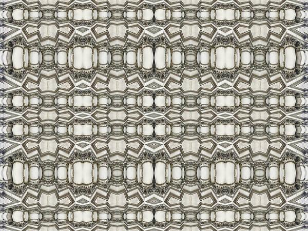 Mixed Media - Sculpted Pattern Frieze by Tony Rubino
