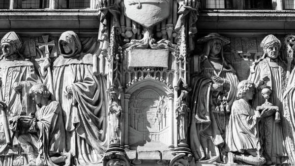 Photograph - Sculpture On Supreme Court Of The United Kingdom E by Jacek Wojnarowski