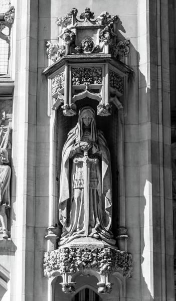 Photograph - Sculpture On Supreme Court Of The United Kingdom G by Jacek Wojnarowski