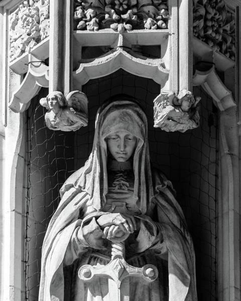 Photograph - Sculpture On Supreme Court Of The United Kingdom H by Jacek Wojnarowski