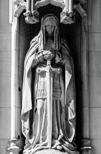 Photograph - Sculpture On Supreme Court Of The United Kingdom I by Jacek Wojnarowski