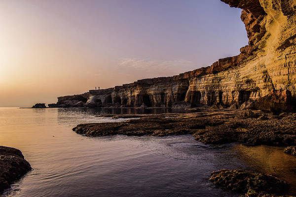 Photograph - Sculptured Cliffs by Movie Poster Prints