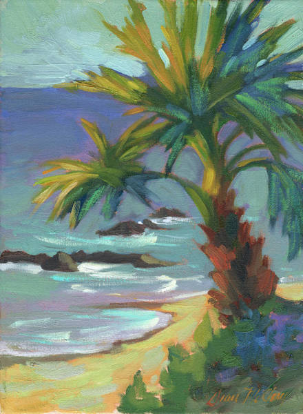 South Beach Painting - Sea Breeze by Diane McClary