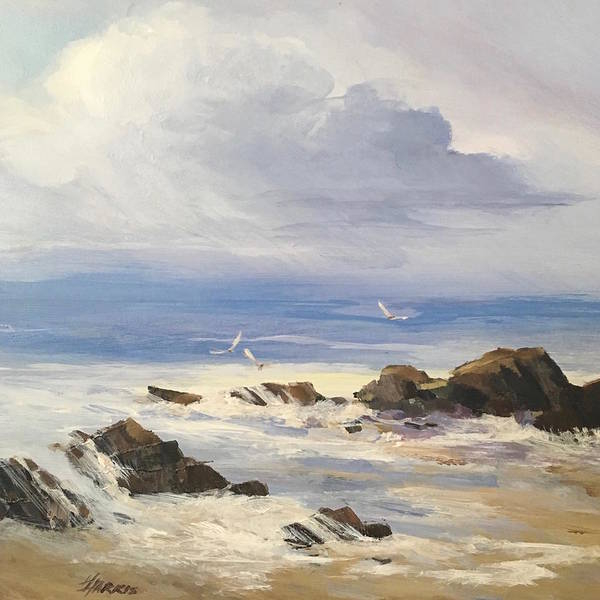 Painting - Sea Breeze by Helen Harris