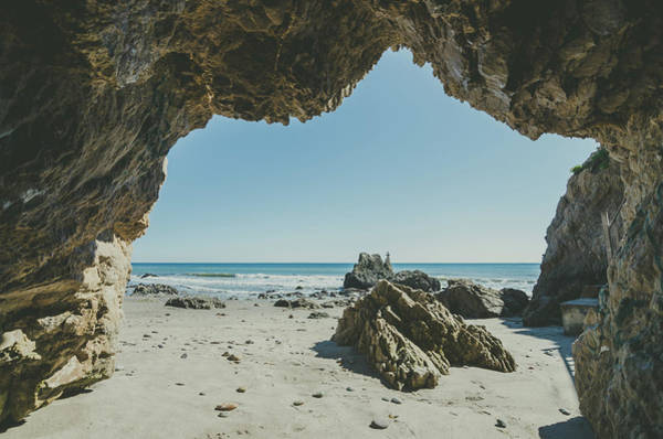 Photograph - Sea Cave Dreams by Margaret Pitcher