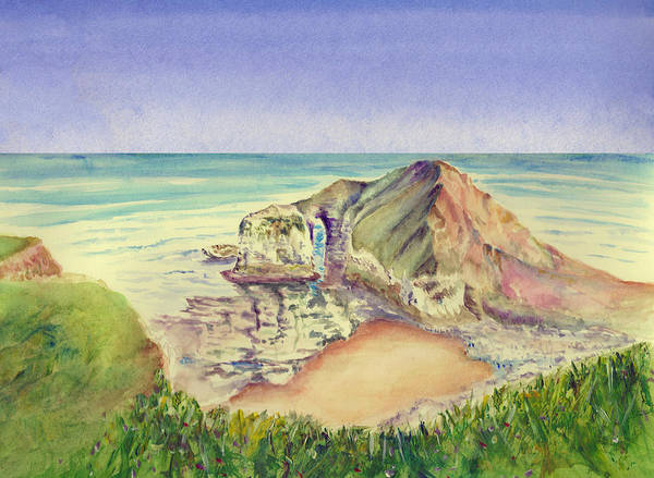 Painting - Sea Cliff by Elizabeth Lock