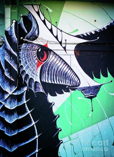 Kammerer Wall Art - Photograph - Sea Creature II - Graffiti by Colleen Kammerer