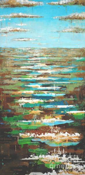 Painting - Sea Facets by Kaata Mrachek
