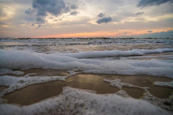 Wall Art - Photograph - Sea Foam by Kristopher Schoenleber