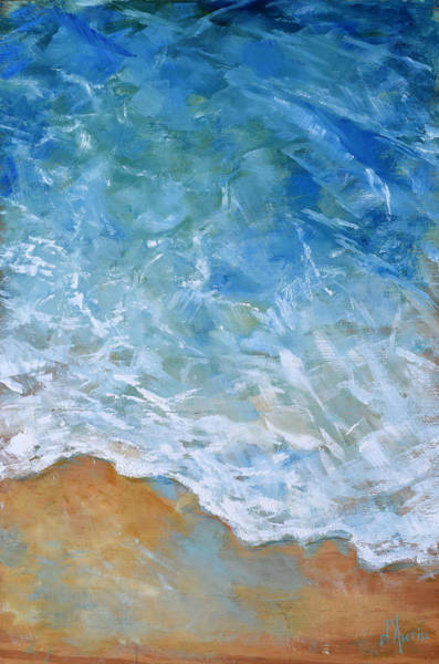 South Pacific Painting - Sea Foam by Tom Dauria