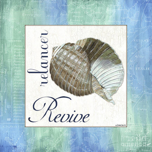 Wall Art - Painting - Sea Glass 4 by Debbie DeWitt