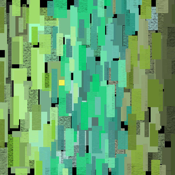 Digital Art - Sea Glass by Val Arie