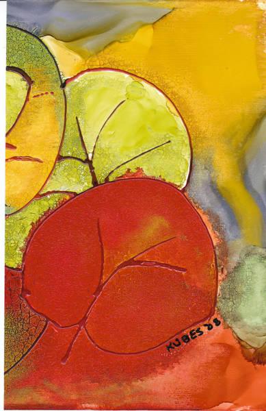 Wall Art - Painting - Sea Grapes by Susan Kubes