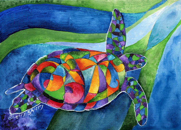 Painting - Sea Gypsy by Sherry Shipley