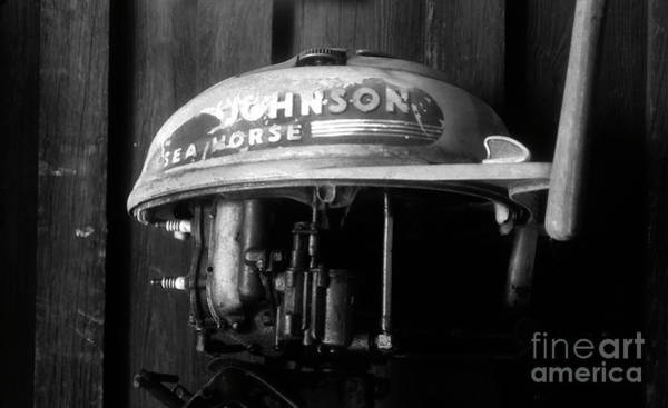 Outboard Engine Photograph - Sea Horse by David Lee Thompson