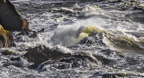 Photograph - Sea In Turmoil by Wes and Dotty Weber