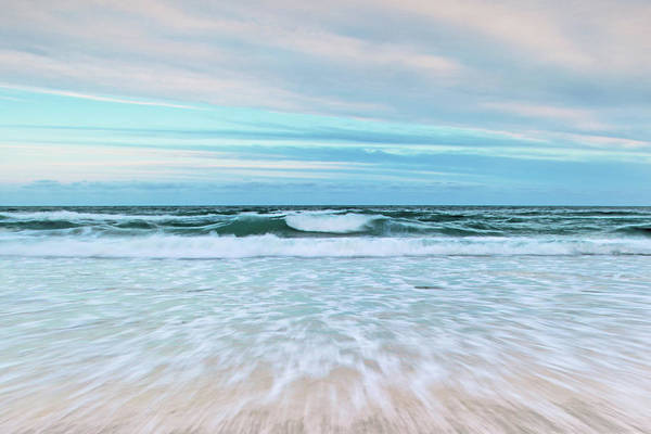 Tidal Photograph - Sea Is Calling by Az Jackson