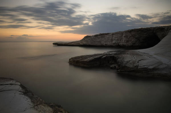 Scenery Wall Art - Photograph - Sea Landscape During Sunset by Michalakis Ppalis