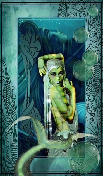 Photograph - Sea Legend Mermaid by Robert G Kernodle