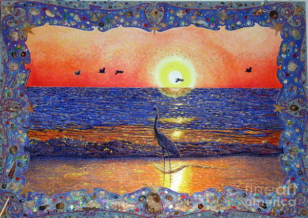 Painting - Sea Life Treasures by Santiago Chavez