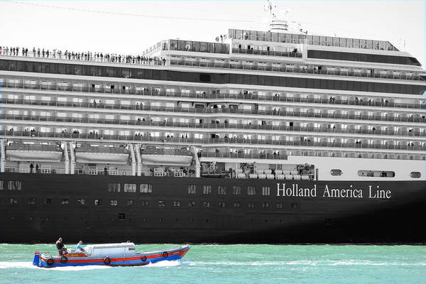 Holland America Line Wall Art - Photograph - Sea Monster by Valentino Visentini