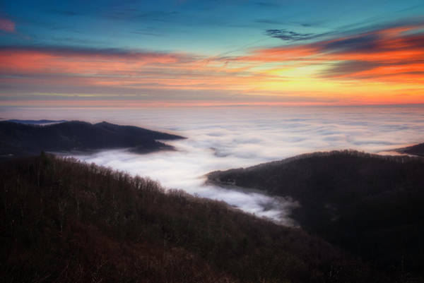 Photograph - Sea Of Clouds by Ryan Wyckoff