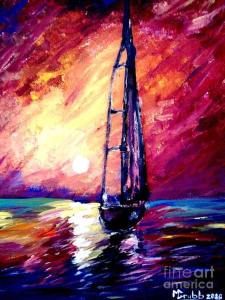 Wall Art - Painting - Sea Of Colors by Michael Grubb
