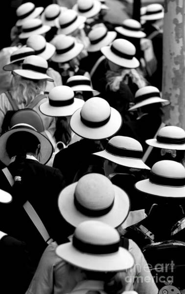 Wall Art - Photograph - Sea Of Hats by Sheila Smart Fine Art Photography