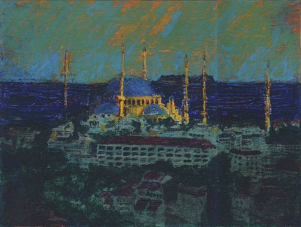 Sea Of Marmara Art Print