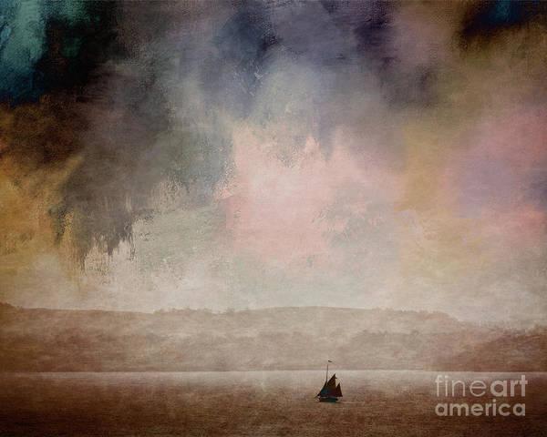 Digital Art - Sea Of Tranquility by Edmund Nagele