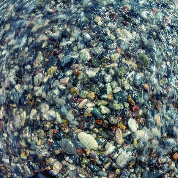 Wall Art - Photograph - Sea Pebbles by Stelios Kleanthous