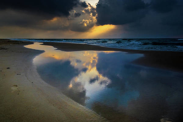 Photograph - Sea Reflections by Gabriel Israel