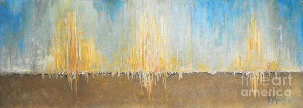 Painting - Sea Set Horizen by Kaata Mrachek