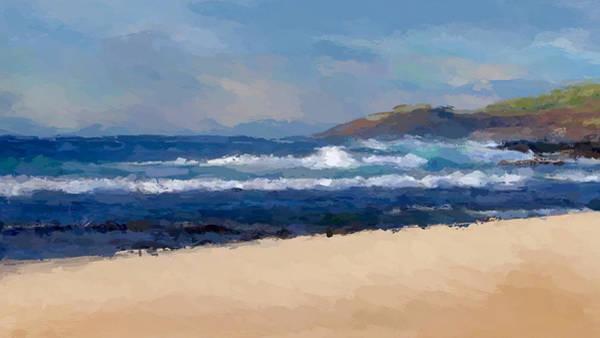 Wall Art - Mixed Media - Sea Shore by Anthony Fishburne