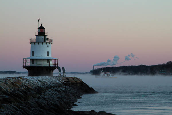Photograph - Sea Smoke by Darryl Hendricks