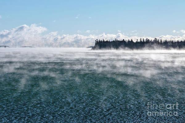 Photograph - Sea Smoke by Karin Pinkham