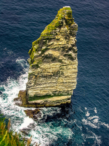 Photograph - Sea Stack Cliffs Of Moher, Northern Ireland by Claudia Abbott