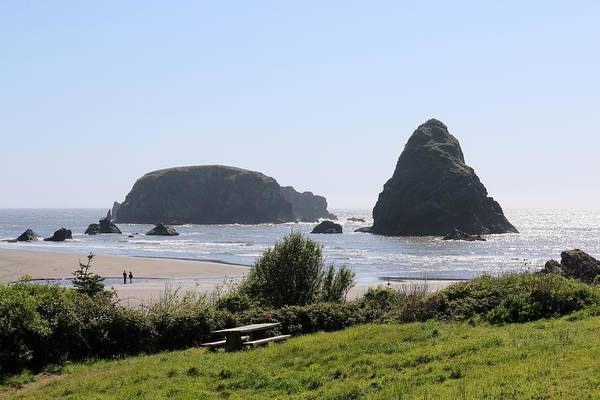 Photograph - Sea Stacks - 2  by Christy Pooschke