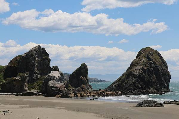 Photograph - Sea Stacks At Harris Beach - 3  by Christy Pooschke
