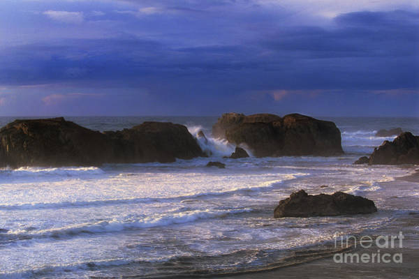 Photograph - Sea Stacks Pacific Ocean Bandon Beach Oregon by Dave Welling