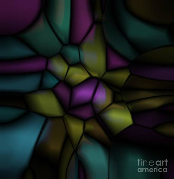 Digital Art - Sea Stones 3 by Mary Machare