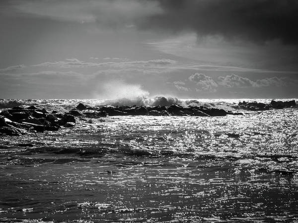 Photograph - Sea Storm by Giovanni Bertagna