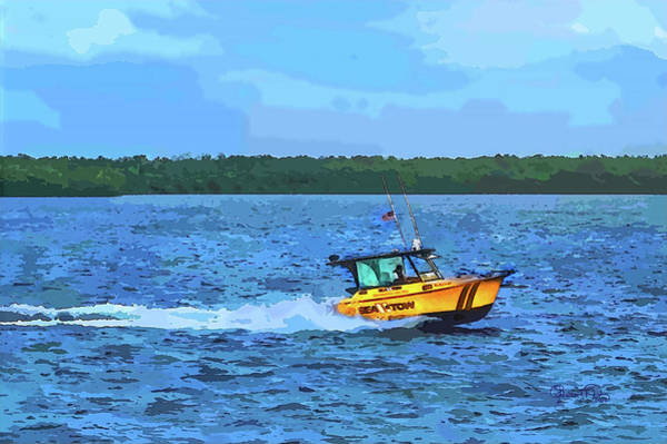 Photograph - Sea Tow To The Rescue by Susan Molnar
