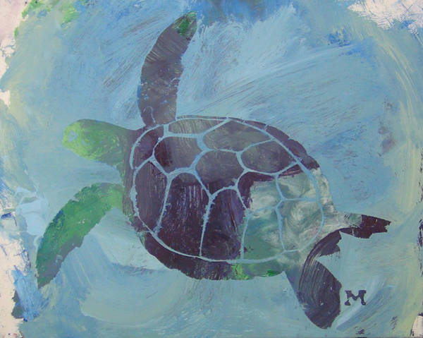 Painting - Sea Turtle by Candace Shrope
