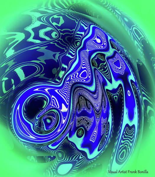 Digital Art - Sea Urchins by Visual Artist Frank Bonilla