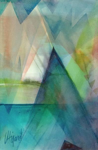 Painting - Sea Veils II by Carolyn Utigard Thomas