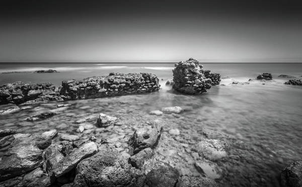 Photograph - Sea Wall Remnants. by Gary Gillette