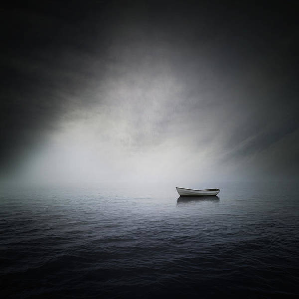 Boats Digital Art - Sea by Zoltan Toth