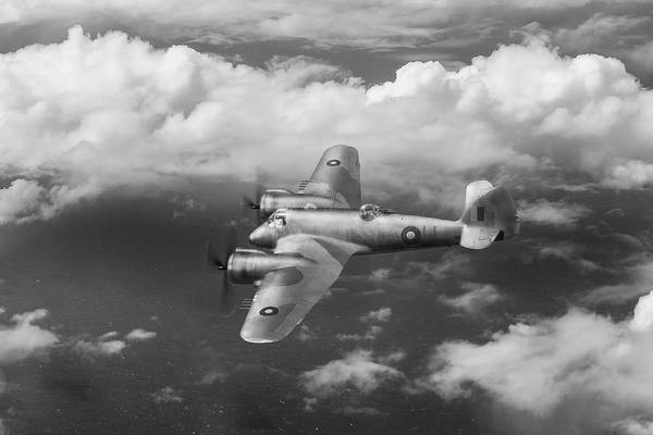 Photograph - Seac Beaufighter Bw Version by Gary Eason