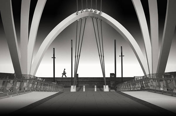Melbourne Wall Art - Photograph - Seafarers Bridge by Adrian Donoghue
